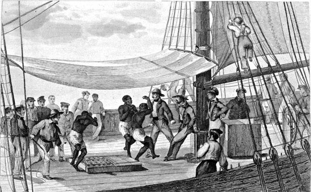 La traite des noirs commence dès le XVIIe siècle