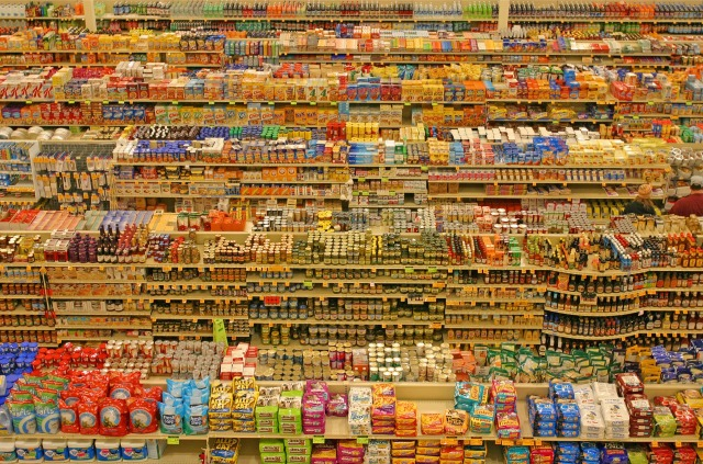 Andreas Gursky, 99 cents, 1999