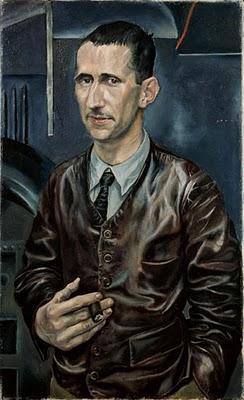 Rudolf Schlichter, Portrait de Bert Brecht, 1926