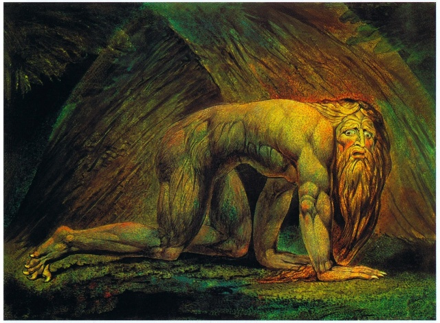 William Blake, Nabuchodonosor, 1795