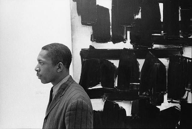 William Claxton, John Coltrane au musée Guggenheim, 1960