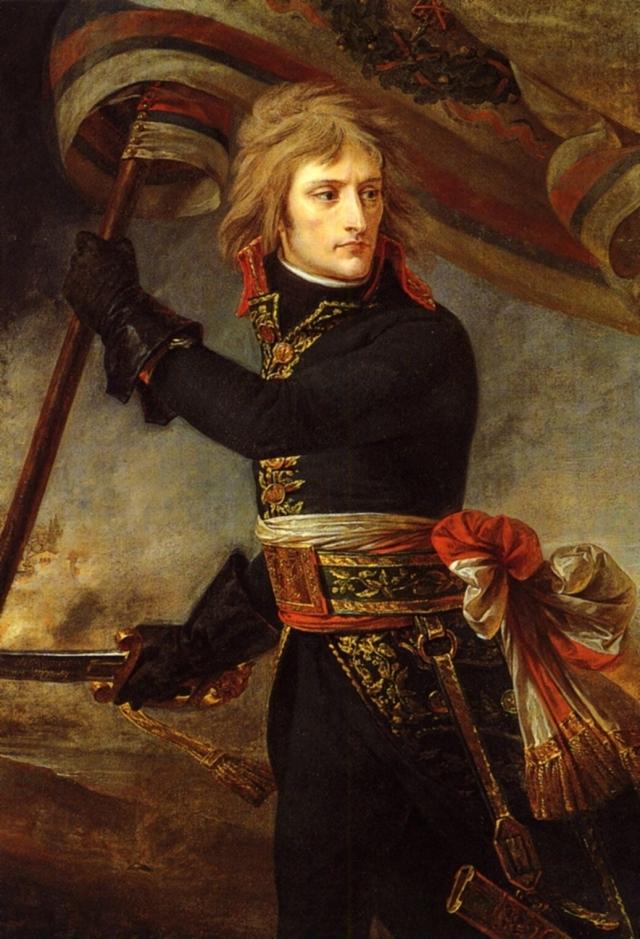 baron Antoine Jean Gros (1771-1835), Napoléon Bonaparte au Pont d'Arcole (1796), 1801.