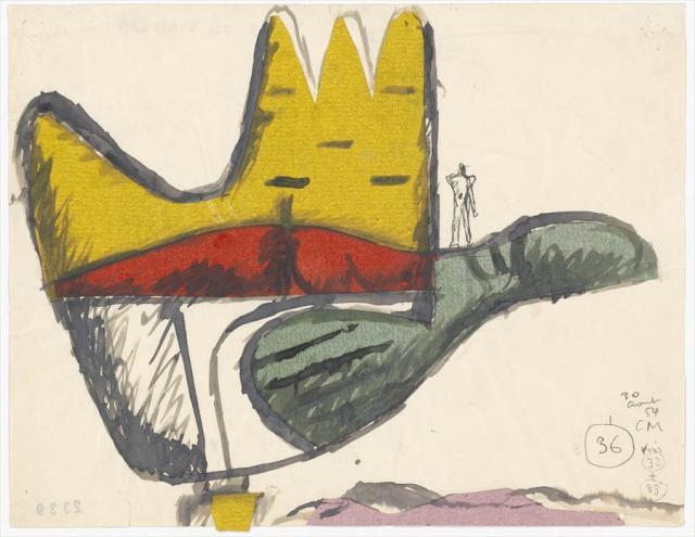 Le Corbusier, La main ouverte, 1954.