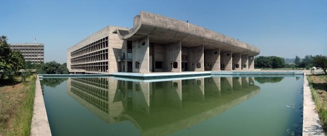 Le Corbusier, Palais de l'Assemblée de Chandigarh.