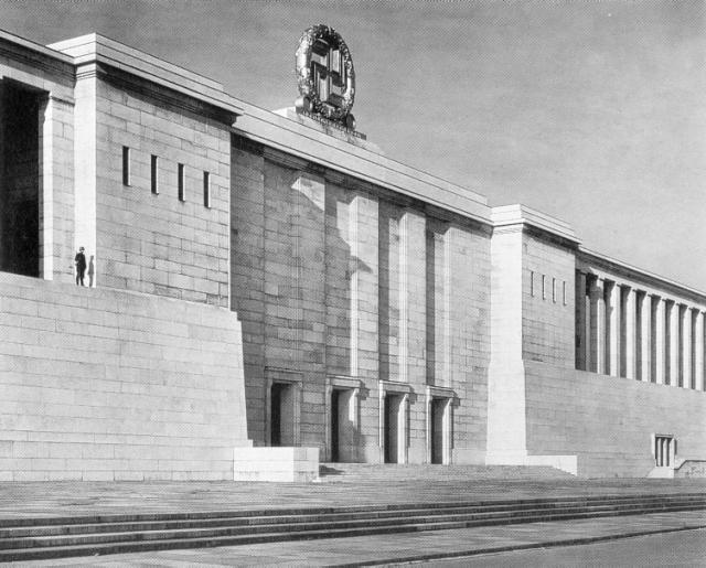 Albert Speer, Zeppelinfeld, 1938.
