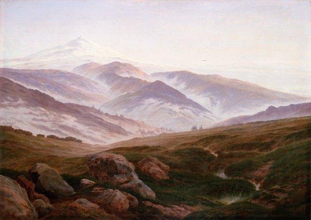 Caspar David Friedrich, Souvenirs du Massif des Géants, vers 1835