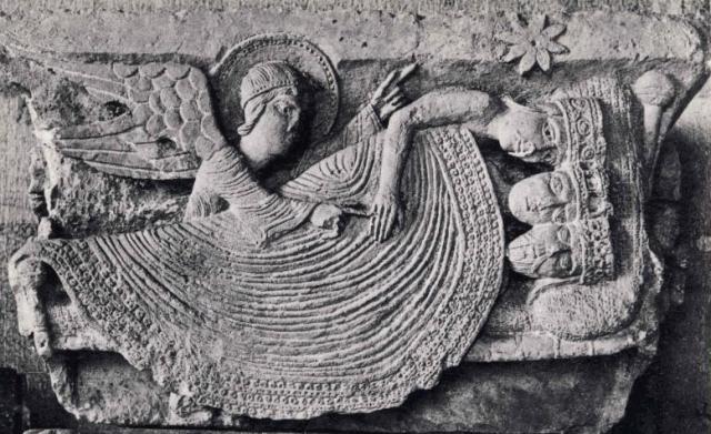 Le sommeil des mages, Cathédrale d'Autun, XIIe siècle