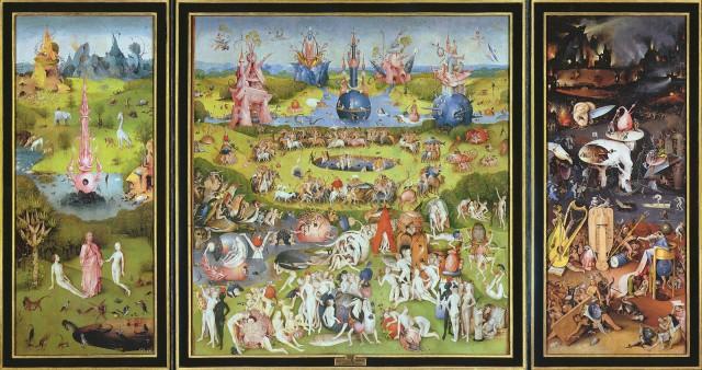 Jérôme Bosch, Le jardin des délices, 1503-04