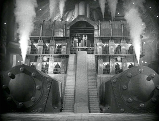 photogramme de Fritz Lang, Metropolis, 1927
