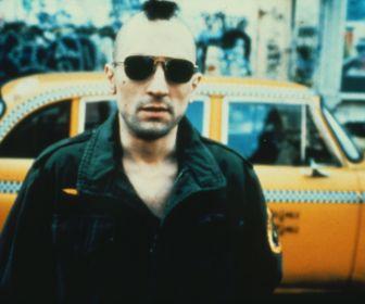 Robert de Niro dans Taxi Driver, de Martin Scorcese,