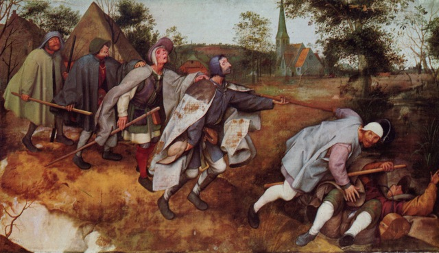 Pieter Brueghel l'Ancien, La parabole des aveugles, 1568