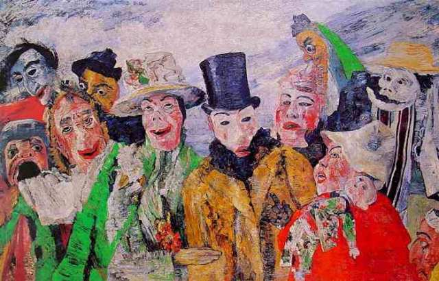 James Ensor, L'intrigue, 1890