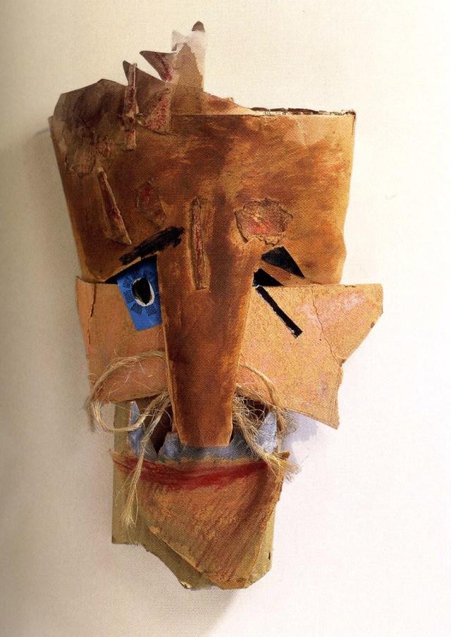 Marcel Janco, masque, vers 1919
