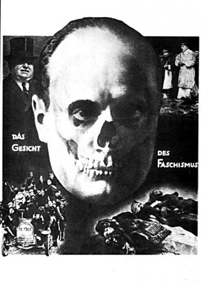 John Heartfield, Le visage du fascisme, vers1933