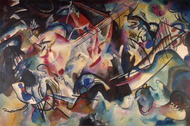 Kandinsky, CompositionVI, 1913