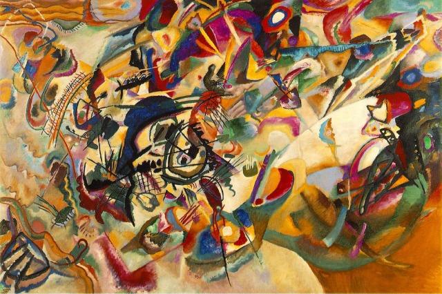 Kandinsky, CompositionVII, 1913