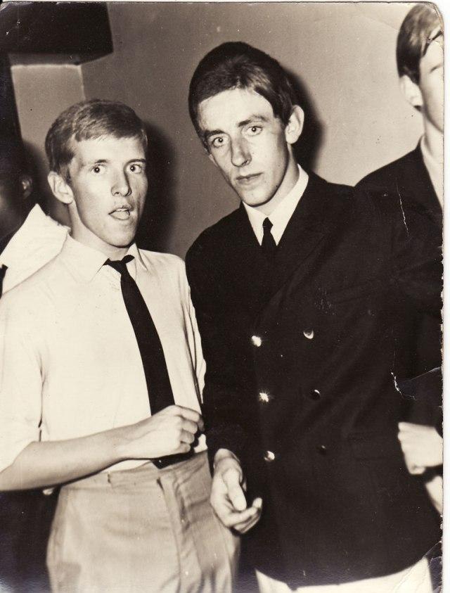 Au Scene Club, début des années 1960